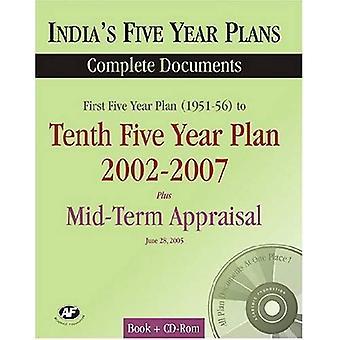 Intian viiden vuoden suunnitelmat 2002-2007: kokonaisia dokumentteja