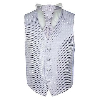 Комплект носовой платок Cravat мальчиков сиреневый свадьбы жилет