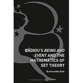 Badiou's on- ja tapahtuma- ja joukko-opin matematiikan