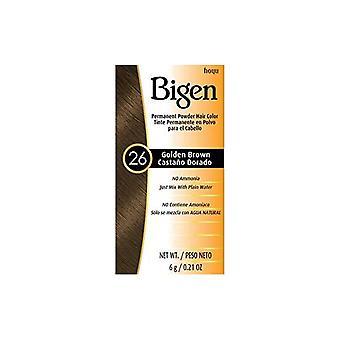 Bigen Powder Hair Color #26 Golden Brown