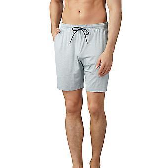 Mey Herren 65650-620 Herren Jefferson hell grau Melange Pyjama kurz