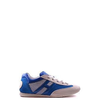 Hogan Ezbc030088 Donne's Sneakers in pelle blu