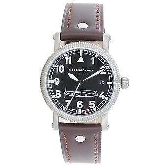 Aristo gentlemen Messerschmitt flying watch stainless steel Brown automatic BF109