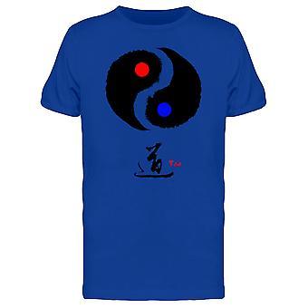 Tao: Tai Chi (Yin und Yang) T-Shirt Herren-Bild von Shutterstock