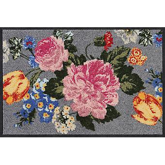 Salão leão florescência flor piso lavável esteira porta corredor do tapete