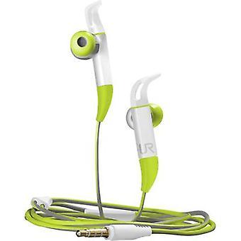 Trust Fit Sports In-ear headphones In-ear Headset Green