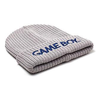 Nintendo Gameboy logo brodert samleoppdatering Beanie-grå (KC085754NTN)