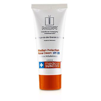 Mbr Medical Beauty Research Medical Suncare Medium Protection Face Cream Spf 20 - 100ml/3.4oz