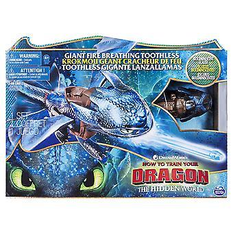 Dragões 6045436 DreamWorks, gigante desdentado respiração de fogo