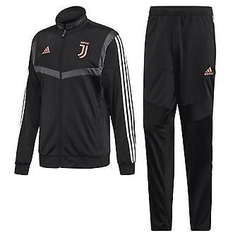 2019-2020 Juventus Adidas presentatie trainingspak (zwart)