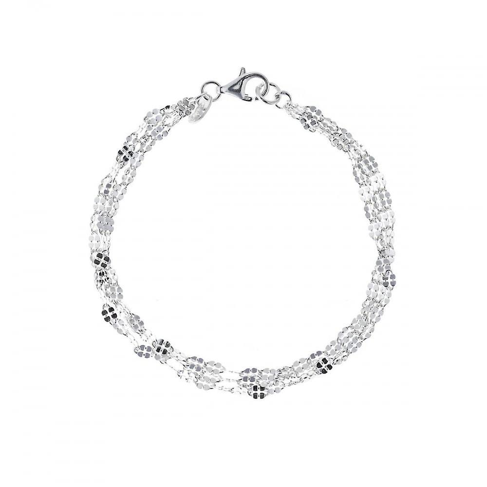 Eternity Sterling Silver Sparkle Bracelet