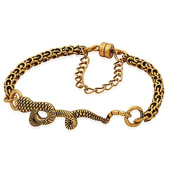 Alex And Ani Snake Magnetic Bracelet - Rafaelian Gold