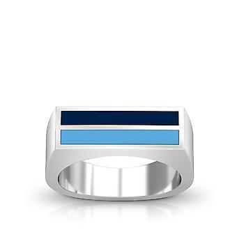 The University of Rhode Island Ring In Sterling Silver Design by BIXLER