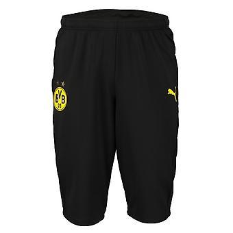 2019-2020 Borussia Dortmund Puma drie kwart lengte broek (zwart)