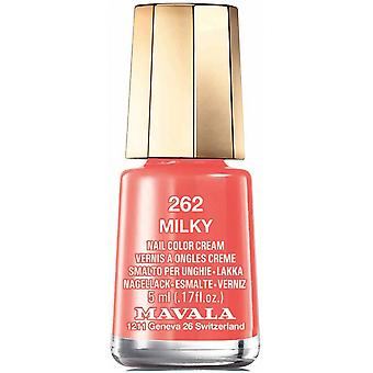 Mavala Mini Nail Color Creme Nail Polish - Milky (262) 5ml