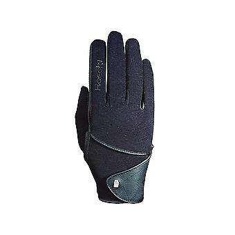 Roeckl Madison (Ascot) ridning handsker-sort