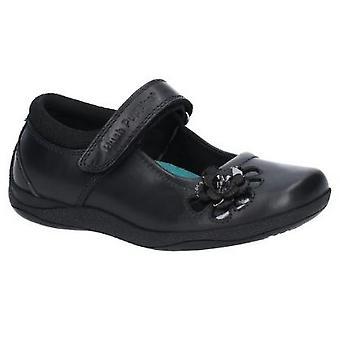 Hush щенки Джессика младших девочек Кожаная школа обуви