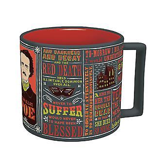 Taza - UPG - Edgar Allan Poe Literary New Coffee Cup 3356