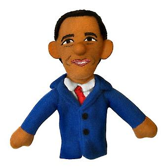 Finger Puppet - UPG - Obama Soft Doll Toys Gifts Licensed New 0644
