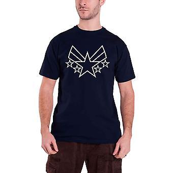 Captain America T Shirt Civil War Captain Insignia new Official marvel Mens