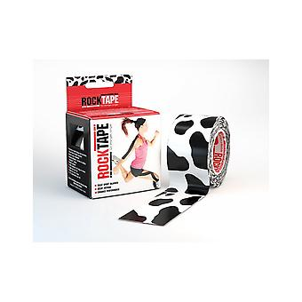 Rocktape Strong Adhesive Kinesiology Tape Patterned Roll - Cow