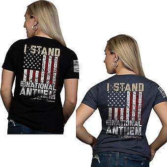 Nine Line Apparel Women's I Stand Relaxed Fit Short Sleeve T-Shirt
