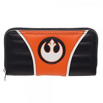 Wallet - Star Wars - Rebel Jrs. Zip Around New Licensed gw4stmstw