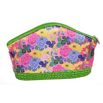 Danielle Vintage Kimono Pink Large Cosmetics Toiletries Bag