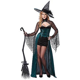 Enchantress Deluxe Wicked Witch Sorceress Halloween Adult Womens Costume