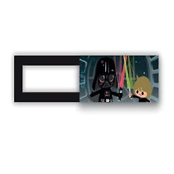 Webcam kapak/kaydırıcı-Lisans™-Star Wars 03-Siyah