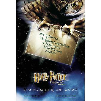 هاري بوتر والساحر & s الحجر (مقدما) ملصق السينما الأصلي
