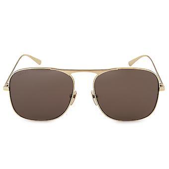 Gucci Aviator Sunglasses GG0335S 001 58