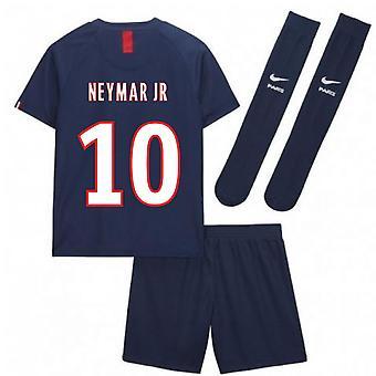 2019-2020 PSG Home Nike Little Boys Mini Kit (NEYMAR JR 10)