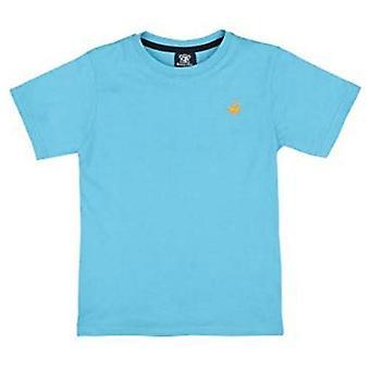 Jongens zomer crew nek T-shirt met paard logo