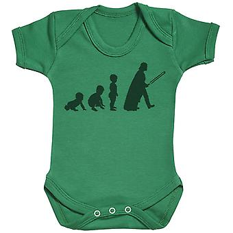 Baby Evolution To A Vader - Baby Bodysuit