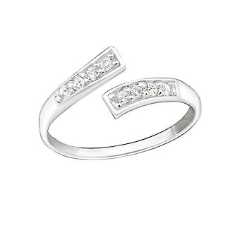 Linea - 925 Sterling Silver Toe Ring - W20683X