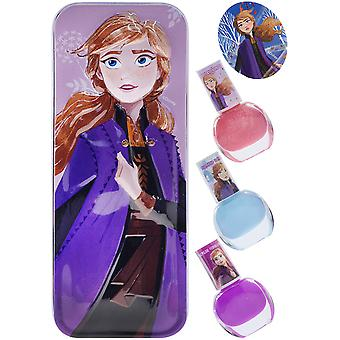 Beauty Accessories - Disney - Frozen 2 Anna w/ Nail Polish Set New 422140