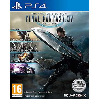 Final Fantasy XIV The Complete Collection PS4 Game