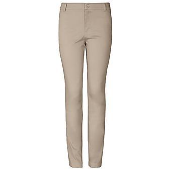 Klassenzimmer Uniformen Juniors Stretch Skinny Leg Hose, Khaki, 17/18