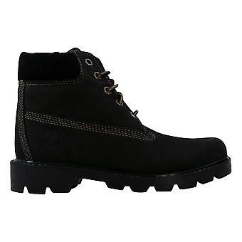 Timberland Classic 6 Inch Boot Black/Nubuck 11703 Pre-School