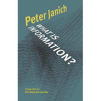 What Is Information by Peter Janich
