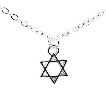 Spiritual wisdom, inspirational message card pendant necklace, jewellery love luck star