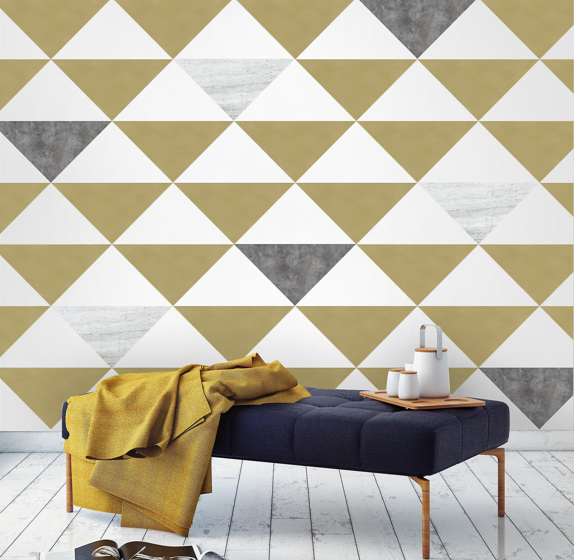 Kalaand large triangle wall decals