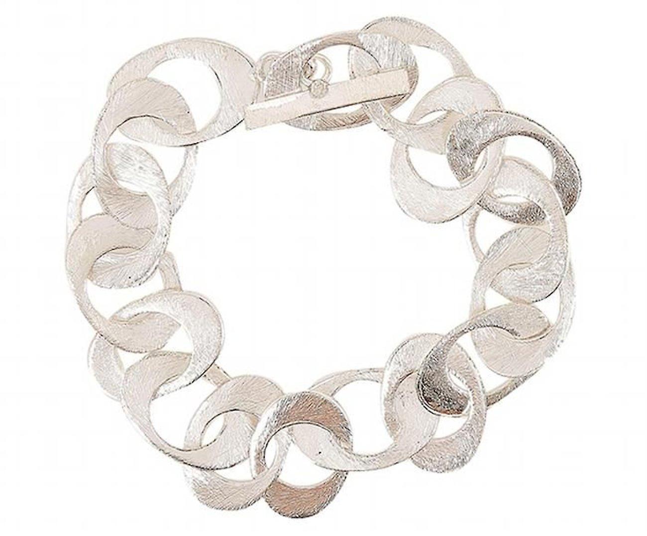 GEMSHINE Armband in hochwertiger Mattverarbeitung in Silber oder rose vergoldet