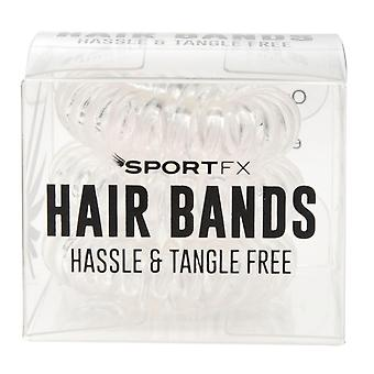 SportFX Womens 3 Pack Hair Bands