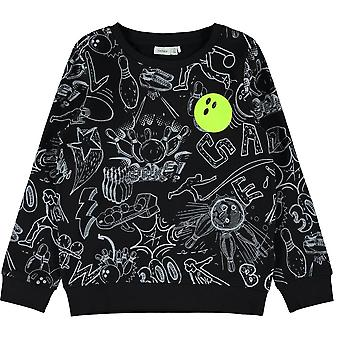 Name-it Boys Sweater Turbo Black