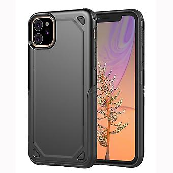 For iPhone 11 Case, Armour Shockproof Rugged Slim Protective Cover,Black