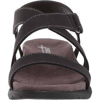 Eastland Womens 2195-01M110 Leather Open Toe Casual Slingback Sandals