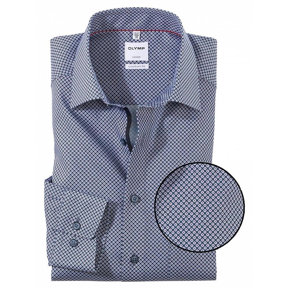 OLYMP Olymp Woven Pattern Formal Shirt