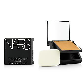 NARS alla dagen lysande Powder Foundation SPF25 - Syrakusa (Med/mörk 1 Medium mörk med bruna undertoner) 12g/0,42 oz